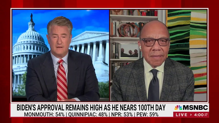 Scarborough Touts 'Popular President' Biden -- 'Presenting Popular Policy Proposals'