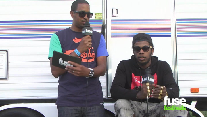 "Festivals: Rock The Bells 2013:  Trinidad James on One-Hit Wonder Status: ""I'm Still Getting Money"""