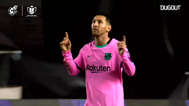 Best of Messi's goalscoring return