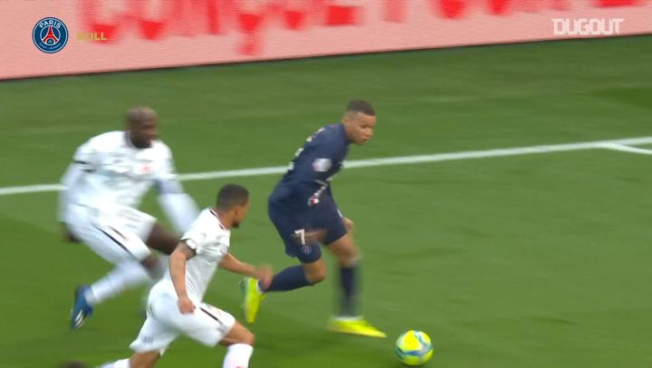 Kylian Mbappé's stunning double nutmeg vs Dijon