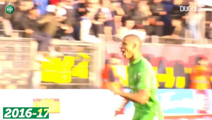 Saint-Etienne's top five goals vs Montpellier
