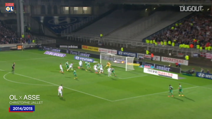 Olympique Lyonnais top five headers vs Saint-Etienne