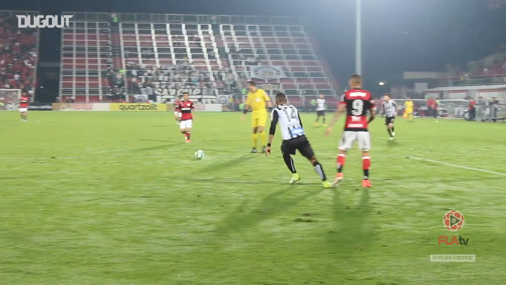 Cuéllar's incredible goal against Santos
