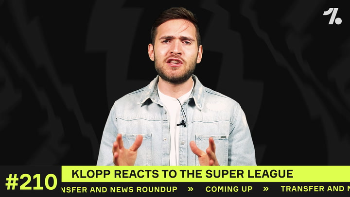Klopp REACTS to the Super League!