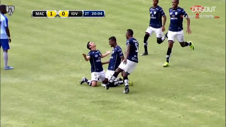 Efrén Mera's free-kick goal vs Macará