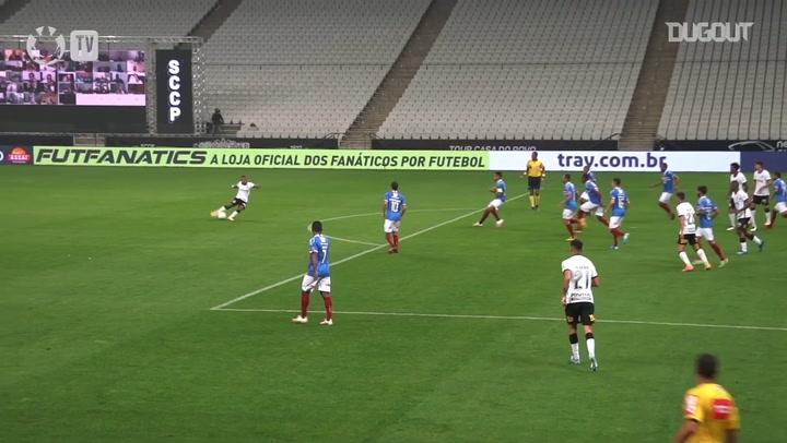 Corinthians victory against Bahia in the 2020 Brazilian Championship