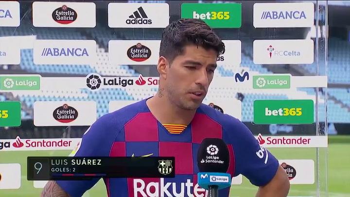 """Luis Suárez: """"La sensación es de frustración"""""""