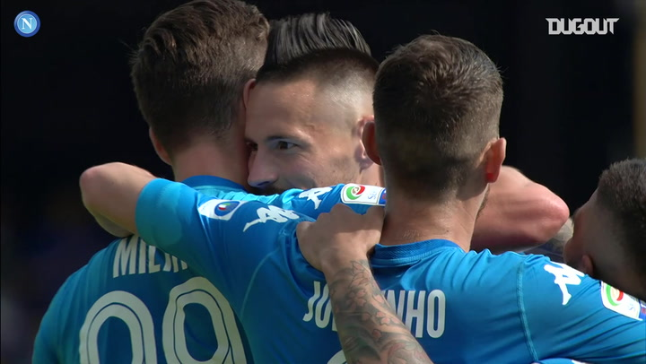 Marek Hamsik's final SSC Napoli Serie A Goal