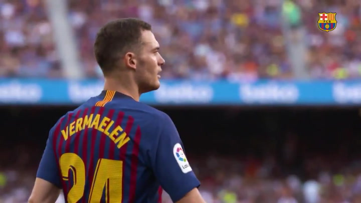 El Barça se despide de Vermaelen