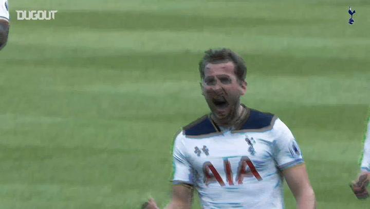 Harry Kane's best goals against Everton