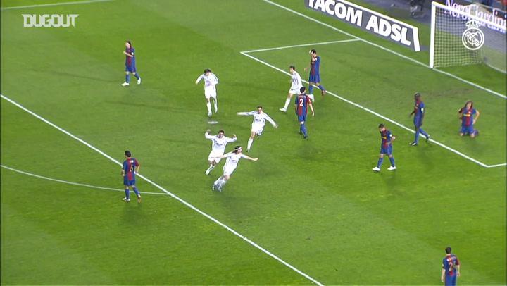 Sergio Ramos Incredible Headers Vs Barcelona