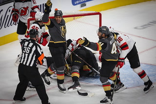 Golden Knights on their comeback victory over the the Devils