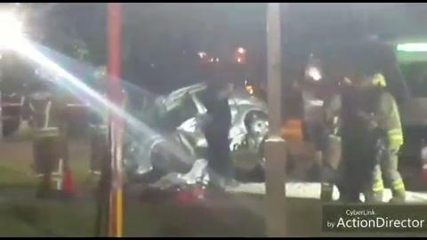 Un motociclista falleció tras chocar contra un auto sobre la ruta 33 en Pérez