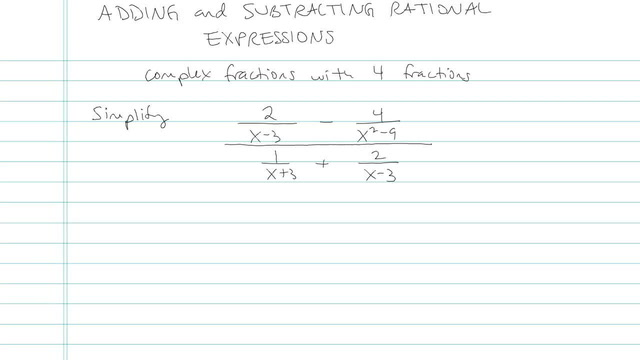 Simplifying Complex Fractions - Problem 5