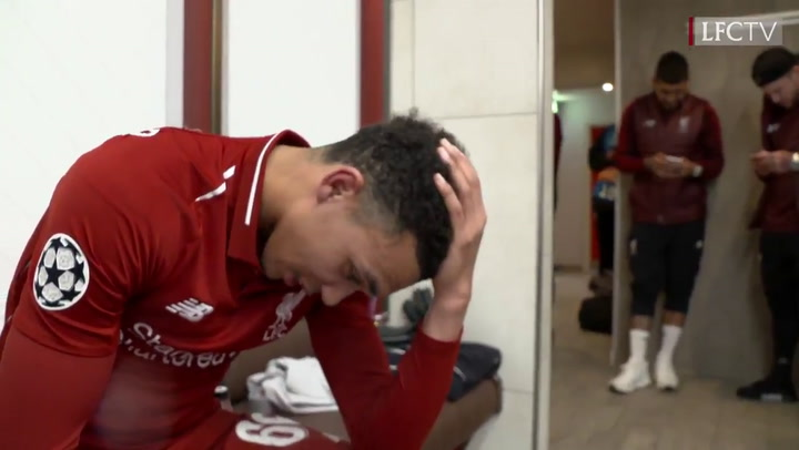 El vestuario del Liverpool estalla de alegría
