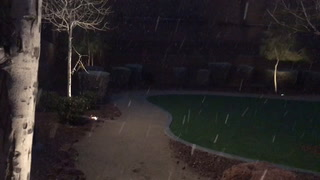 February 20 snow in Centennial Hills