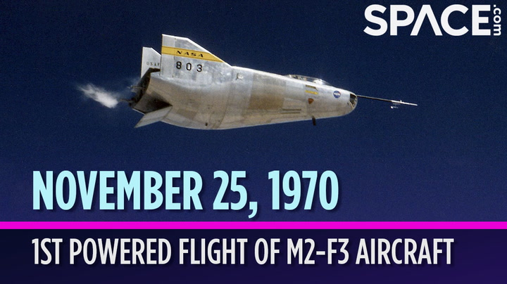 OTD in Space - Nov. 25: 1st Powered Flight of the 'Wingless' M2-F3 Aircraft