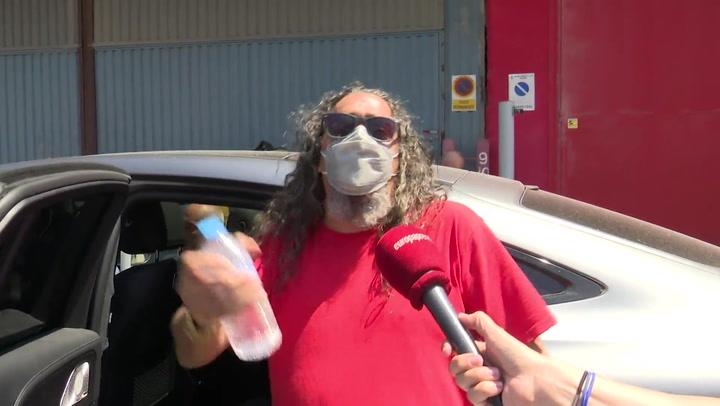 'El Cigala' tras salir en libertad: