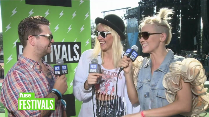 Nervo On Female DJs and Touring With Britney Spears (Voodoo 2012)