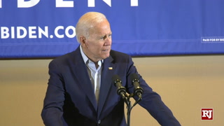 Joe Biden Addresses Supporters In Las Vegas – Video