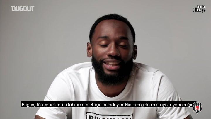 Nkoudou, Türkçe Kelimeleri Öğreniyor