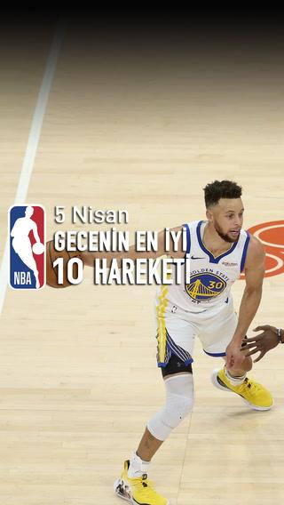 NBA'de gecenin en iyi 10 hareketi