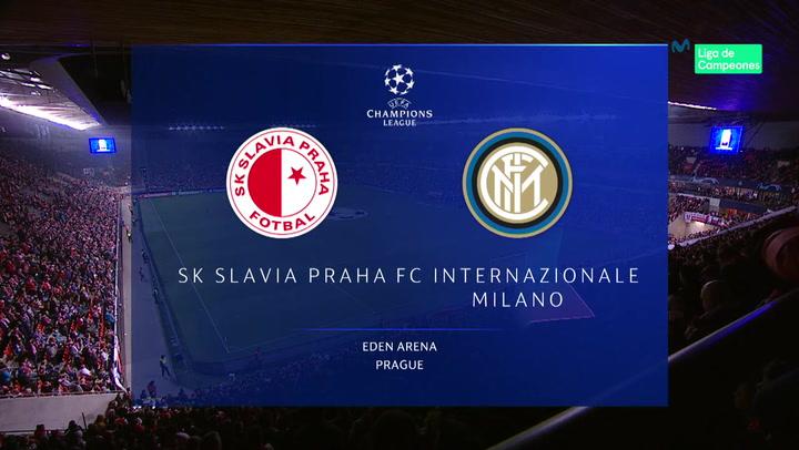 Champions League: Resumen y Goles del Slavia Praga - Inter