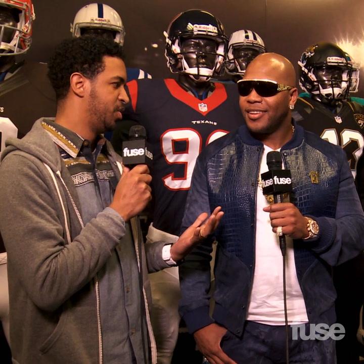 Flo Rida & NFL Player Tamba Hali Discuss How Music & Football Intersect