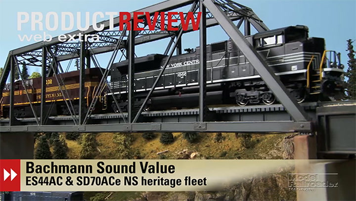 Video: Bachmann Trains HO scale SD70ACe and ES44AC Norfolk