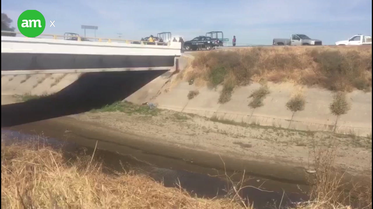 Encuentran cadáver en canal