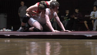 Central wrestling edges Red River