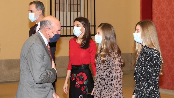 La princesa Leonor y la infanta Sofía acompañarán a sus padres en un acto en Cartagena el próximo jueves