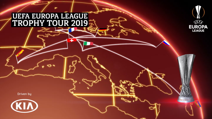 UEFA Europa League Trophy Tour 2019 | Berlin | Kia