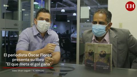 Óscar Flores presenta su libro 'El que meta el gol gana'