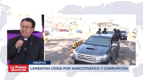 Lamentan crisis por narcotráfico y corrupción
