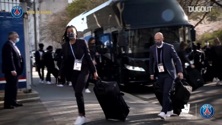 Inside: Le PSG affronte Lyon en UEFA women Champions League