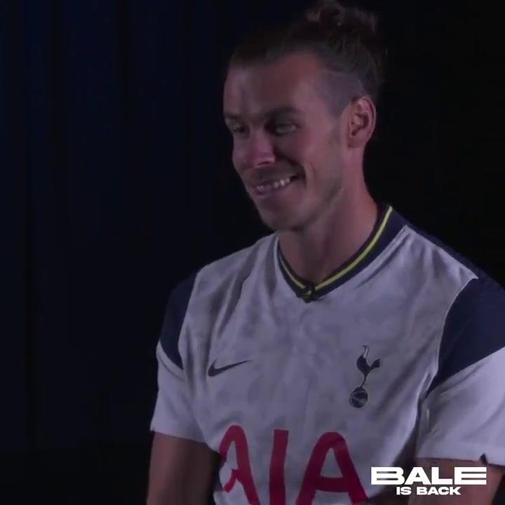 Primera entrevista de Gareth Bale como nuevo jugador del Tottenham