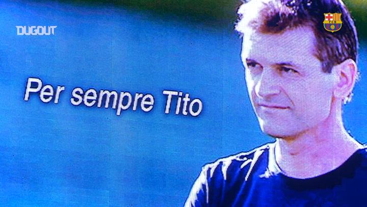 La remontada del Barça por Tito Vilanova ante el Villarreal