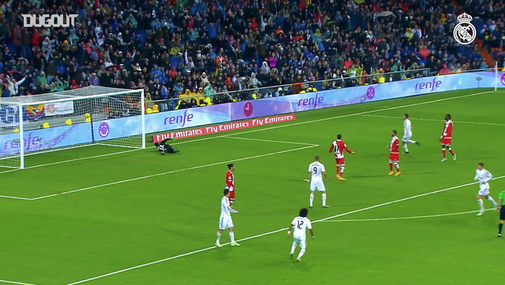 First goal for Real Madrid: Toni Kroos and Emilio Butragueño