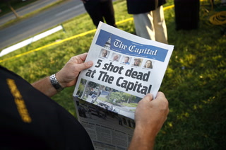 5 Dead in Shooting at Capital Gazette Newspaper in Maryland