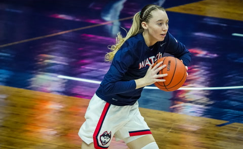 UConn's Paige Bueckers reveals her strengths on the court and on TikTok