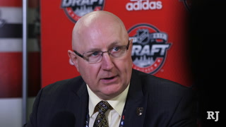 Vegas Golden Knights scout on the draft: It was a lot of hard work