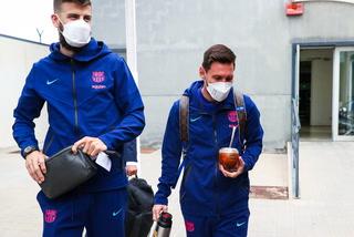 Con Lionel Messi en la cabeza: así fue el traslado y llegada del Barcelona a Madrid