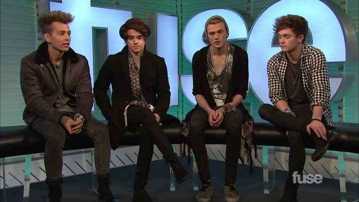 Interviews: The Vamps (November 2014)