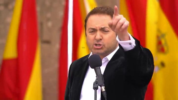 Albert Castillón finaliza el manifiesto contra Pedro Sánchez