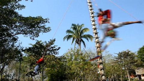 Mantener vivo el espíritu volador de Papantla en México