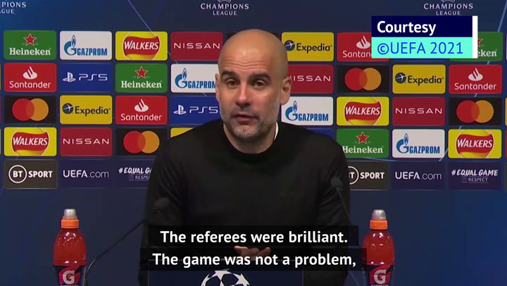 Guardiola has no issue with assistant referee asking Haaland for an autograph