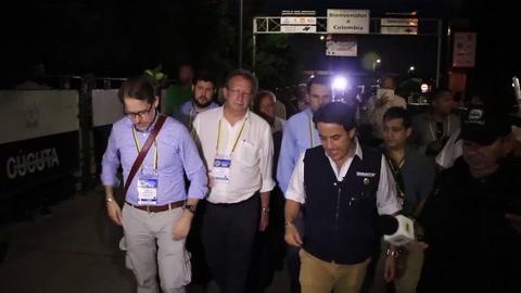 Representantes de OEA en frontera Colombia-Venezuela