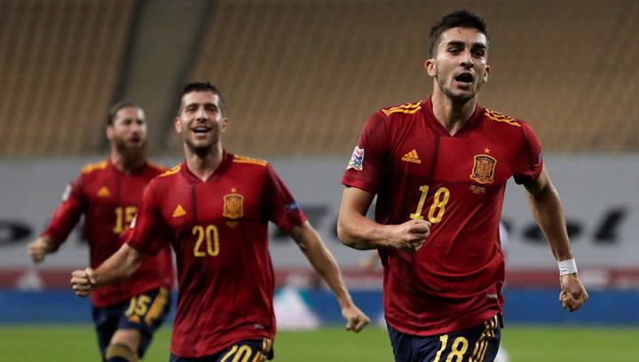 España-Alemania. Mira el Hat-trick de Ferran Torres