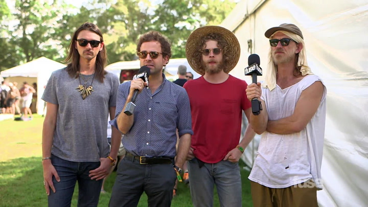 Bonnaroo 2015: Dawes Talk #1 Album On Billboard Folk Charts